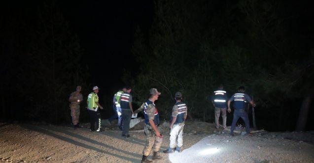 Kahramanmaraş-Kayseri karayolunda otomobil uçuruma yuvarlandı: 1 kişi hayatını kaybetti
