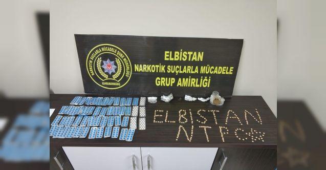 Elbistan'da uyuşturucu operasyonu: 2 gözaltı