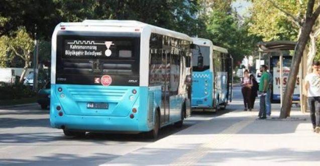 Elbistan'da halk otobüslerine zam geldi!