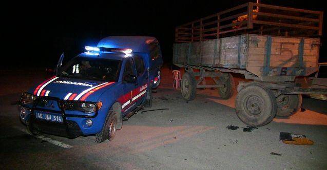 Elbistan'da askeri araç ile otomobil çarpıştı: 4'ü asker 7 yaralı