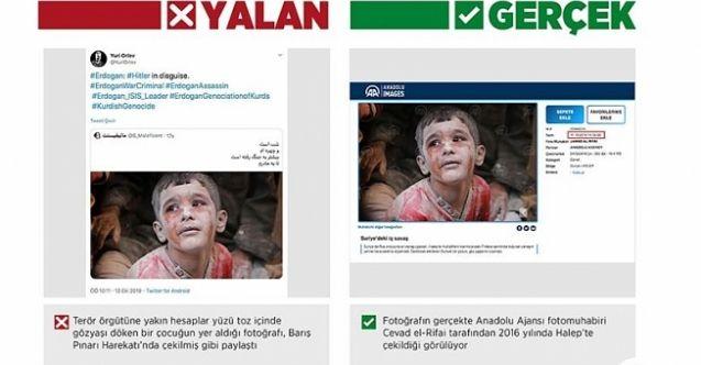 Barış Pınarı Harekatı aleyhine sahte fotoğraflarla manipülasyon çabası