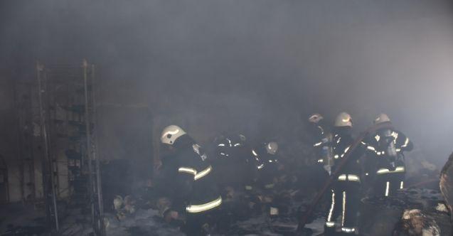 Kahramanmaraş'ta fabrika alev alev yandı! Yangın sonrasında büyük çaplı hasar meydana geldi...