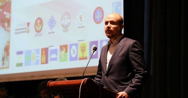 Bilal Erdoğan Kahramanmaraş'ta açıklamalarda bulundu: Dünyadaki kültürel dengesizliğin giderilmesi gerekli