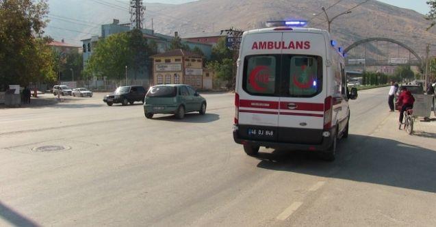 Elbistan'da otomobil çocuğa çarptı! 6 yaşındaki çocuk yaralandı
