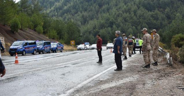 Kahramanmaraş-Göksun kara yolunda zırhlı askeri araç devrildi: 4 yaralı