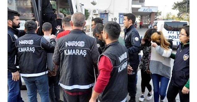 Kahramanmaraş merkezi 'Torbacı' operasyonu: 8 gözaltı'dan 6'sı tutuklandı!