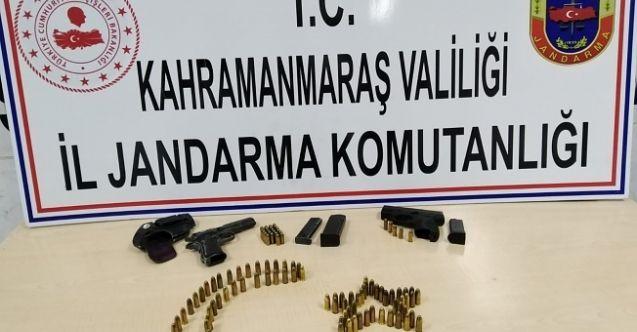 Kahramanmaraş'ta silah kaçakçılığı operasyonu: 2 ruhsatsız tabanca operasyonu