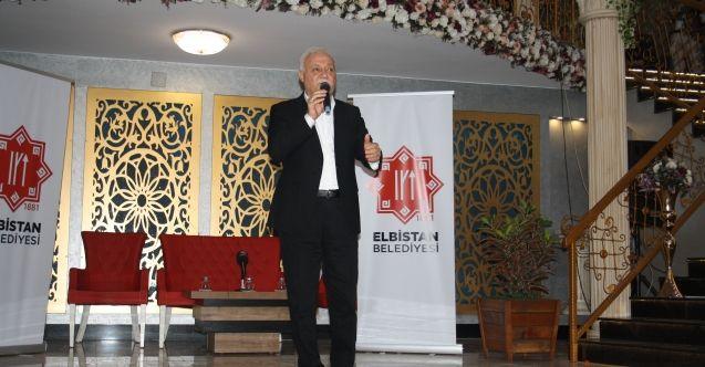 Elbistan Belediyesi, Nihat Hatipoğlu'nu ağırladı