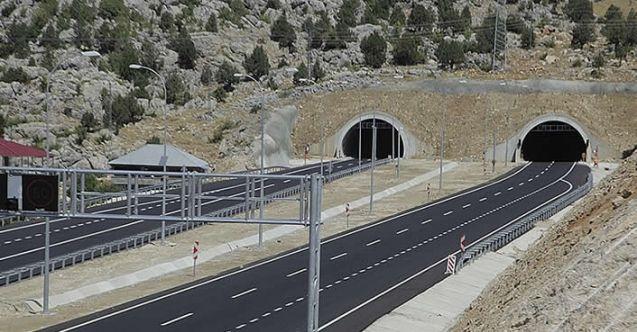 Göksun-Kahramanmaraş tünelini kullanacaklar dikkat!