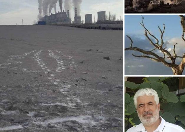 Vatandaş, Afşin-Elbistan termik santralinin saçtığı zehiri şiirle dile getirdi