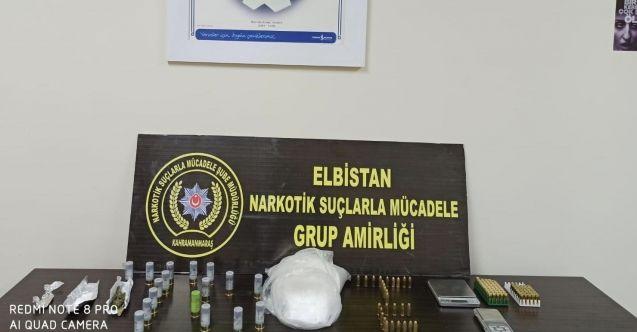 Elbistan'da otomobilde uyuşturucu ele geçirildi,3 şüpheliden 2'si gözaltına alındı