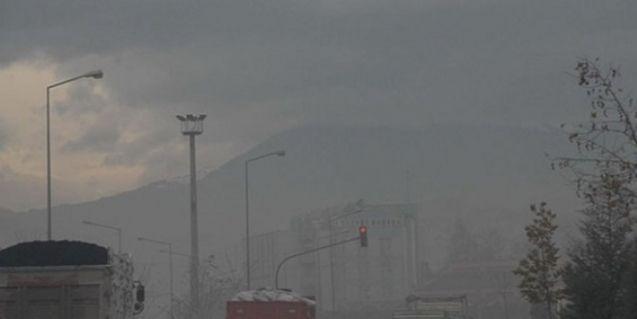 Ölüyoruz! Elbistan Türkiye'nin en kirli havasına sahip ilçe oldu...