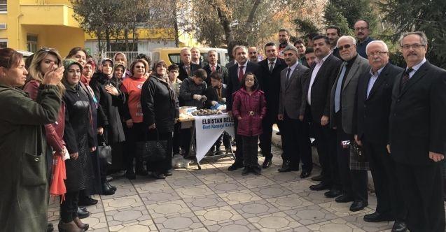Elbistan Belediyesi Kent Konseyi Kadın Meclisi öğretmenler gününü kutladı