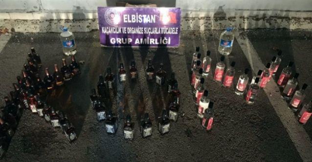 Yılbaşı hazırlığı yapan alkol kaçakçılarına darbe