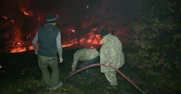 Ekinözü'nde korkutan yangın! 6 saatte kontrol altına alındı...