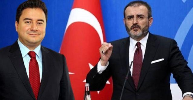 Mahir Ünal'dan Ali Babacan'a yanıt: Cumhurbaşkanımızın ifadesiyle trenden inenler oldu