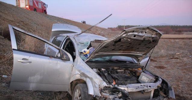Göksun-Elbistan kara yolunda trafik kazası: 1 ölü, 4 yaralı