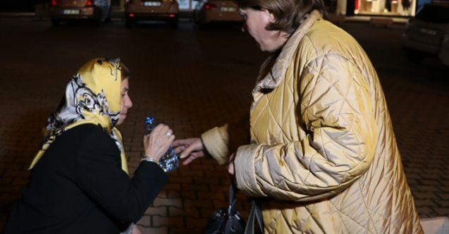 Kahramanmaraş'ta kaza yapanın oğlu olduğunu görünce gözyaşlarına boğuldu
