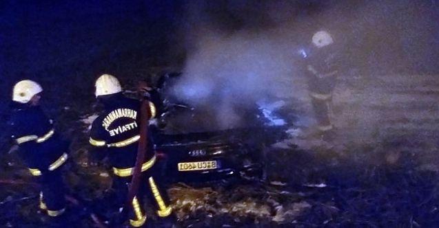 Kahramanmaraş'ta feci kaza! Hurdaya dönene milyonluk otomobilden sağ çıktılar