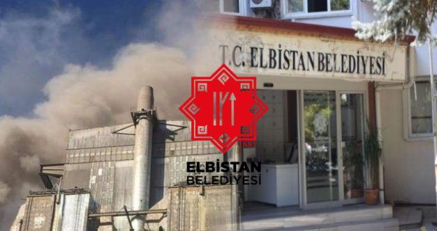 Elbistan Belediyesi'nden açıklama: Çelikler Holding'in çalışması durduruldu!