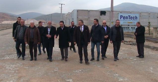 Elbistan Yatırım Grubu'na OSB'de salça fabrikası için yer tahsisi yapıldı