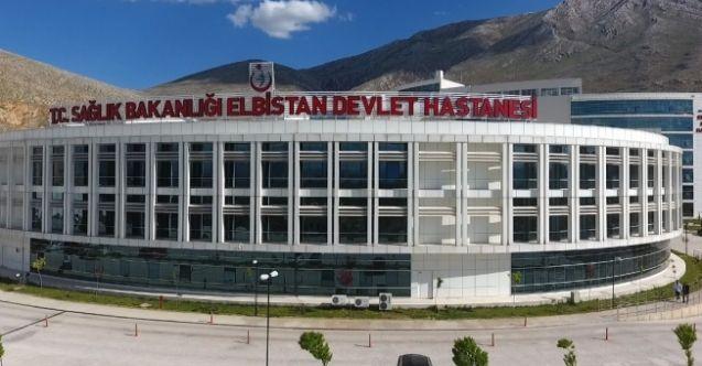 Elbistan Devlet Hastanesinde 900 bin hastaya hizmet verildi