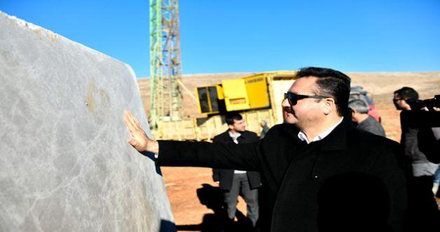 """Başkan Gürbüz: """"Mermerin yeni adresi Elbistan olacak"""""""