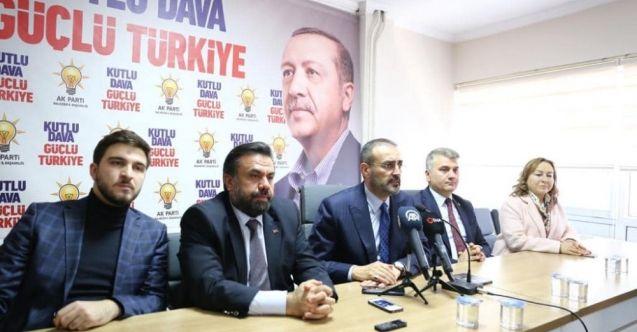 AK Parti'li Mahir Ünal: Türkiye'nin başına kötü bir şey gelsin diyen muhalefet var