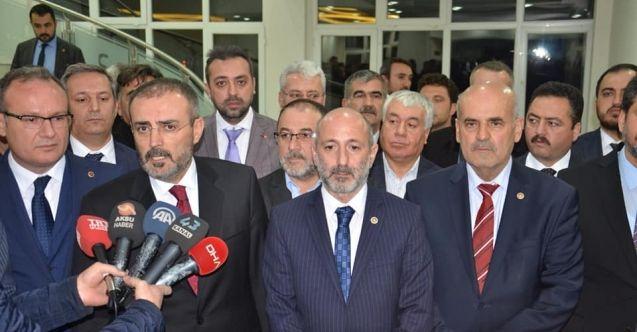 AK Parti Genel Başkan Yardımcısı Ünal ve Milletvekili Öztunç, Afşin-Elbistan A Termik Santrali'ni ziyaret etti