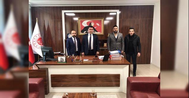 Pusula Gazetesi'nden Cumhuriyet Başsavcısı Hayri Ormancı'ya ziyaret