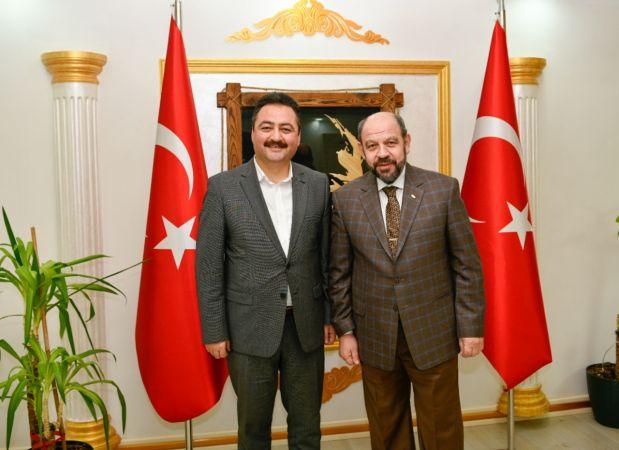 Başkan Gürbüz, MADO'yu Elbistan'a yatırım için davet etti