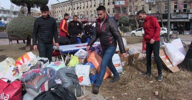 Elbistan Ultraslan Grubu Elazığ ve Malatya için yardım kampanyası başlattı