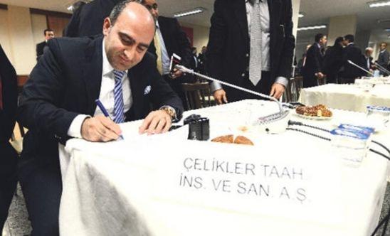Çelikler Holding sahibi Tahir Çelik'ten Elazığ'a büyük destek