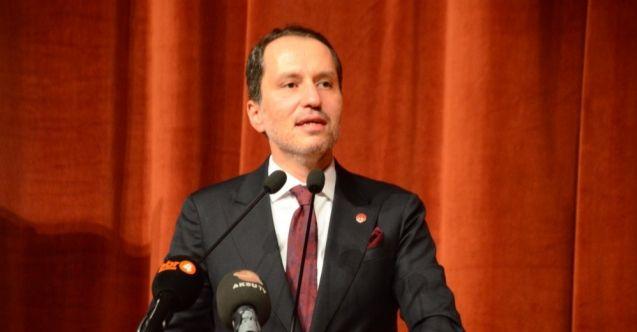 Yeniden Refah Partisi Genel Başkanı Fatih Erbakan Kahramanmaraş'ta 100. yıl programına katıldı
