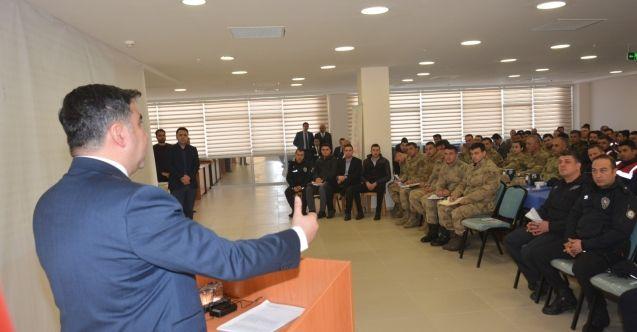 Elbistan Cumhuriyet Başsavcılığı'nca adli kolluk koordinasyon semineri düzenlendi