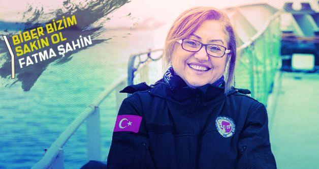 """Fatma Şahin, yine yaptı yapacağını Antarktika'da """"Antep Biberi"""" dedi!"""