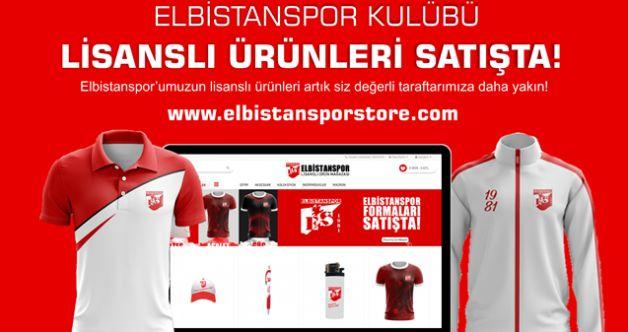 Elbistanspor Store online mağazası açıldı