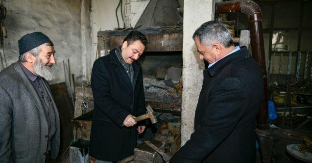 """Başkan Gürbüz: """"Sanayi esnafı Elbistan'ın ekonomik ve sosyal yapının omurgasıdır"""""""