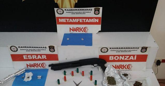 Kahramanmaraş'ta narkotik ve fuhuş operasyonu