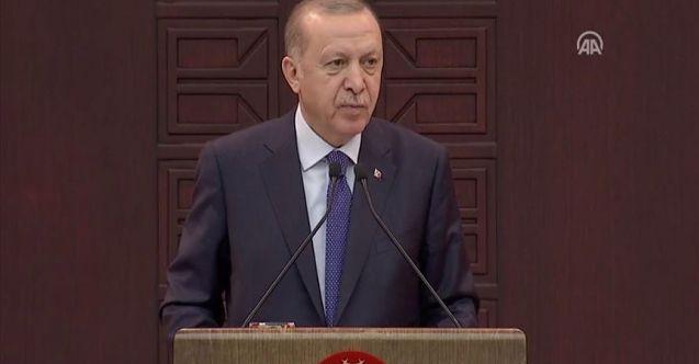 Cumhurbaşkanı Erdoğan: Mecburiyeti olmayan hiçbir vatandaşımız tehdit ortadan kalkana kadar evinden çıkmamalı