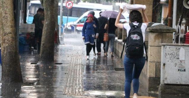 Elbistan'a çok kuvvetli gök gürültülü sağanak yağış geliyor