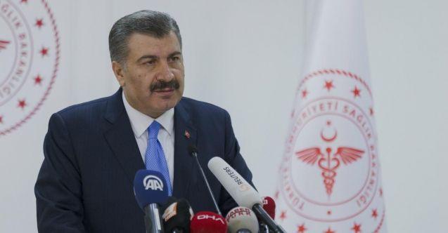 Türkiye'de koronavirüs vakaları kaç oldu? Bakan Koca açıkladı