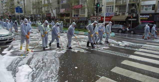 Kahramanmaraş'ta caddeler foşur foşur yıkandı!