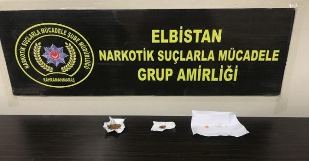 Elbistan'da uyuşturucu tacirlerine geçit yok: 3 kişi tutuklandı