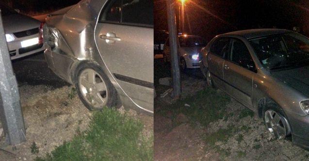 Kazada yaralanan vatandaşa ilk müdahaleyi zabıta yaptı