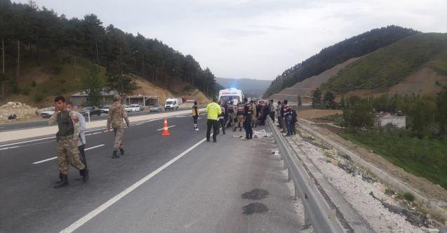 Göksun-Kahramanmaraş karayolunda kamyonun çarptığı çocuk hayatını kaybetti