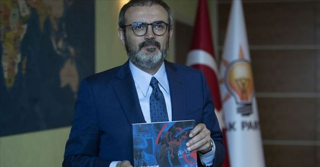 Tanıtımını Mahir Ünal yaptı: AK Parti'den 'koronavirüsle mücadele' kitabı