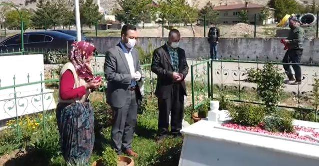 """Başkan Gürbüz'den şehit annesine """"Vefa"""""""
