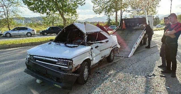 Afşin'de trafik kazası: 1'i ağır 2 yaralı