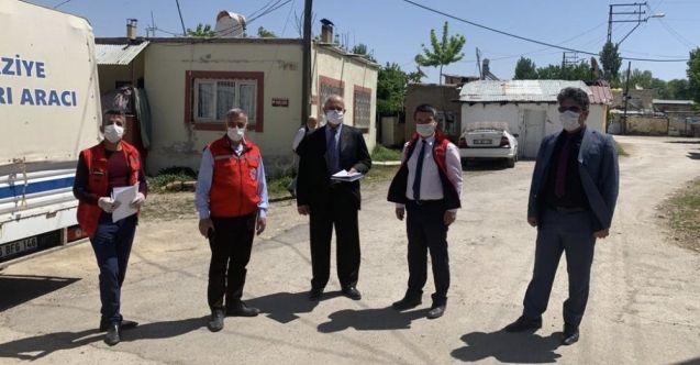 Büyükşehir Belediyesi, Elbistan'da ihtiyaç sahibi ailelere gıda desteğine devam ediyor